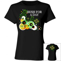 Irish for a day, black t-shirt