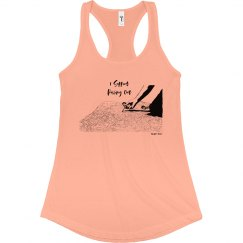 I Support Pulling Out - Junior Fit - Racerback Tank