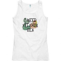 Need Vitamin Sea Ocean Beach Womens Racerback Tank Top