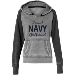 Proud navy girlfriend