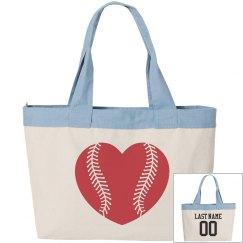 Custom Name/Number Baseball Mom