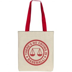 No Crying In Baseball Mom Tote