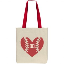 Cute Baseball Mom Custom  Number