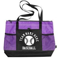 Baseball Mom Customizable Team Name