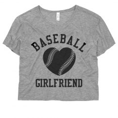 Baseball Girlfriend Crop