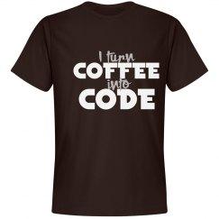 I turn coffee into code