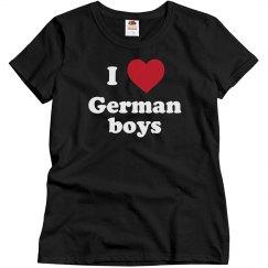 I love German Boys!