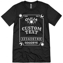Custom Ouija Board Costume Shirt