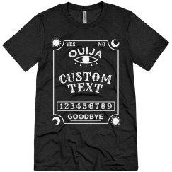 Custom Ouija Board Costume Shirt