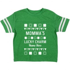 Momma's Lucky Charm Toddler Tee