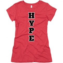 HypeGirlz red long shirt