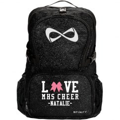 Love Cheer Bows High School Nfinity Cheerleader Bag