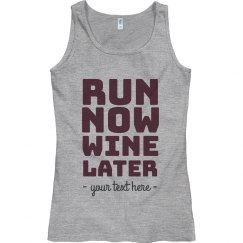 Custom Run Now Marathon Tank