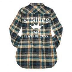 Queen Senior Custom Fall Flannel