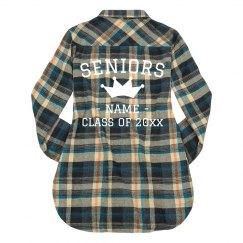 Queen Senior Custom Fall Flannel
