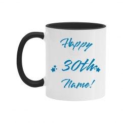Custom happy 30th Birthday Gift