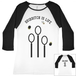 """Quidditch is Life"" Tee"