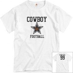 Mens cowboy w/name