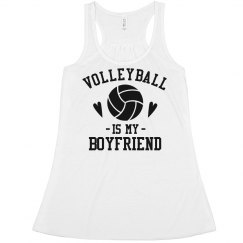 Volleyball is my Boyfriend Crop