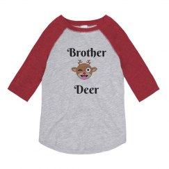Brother Deer Custom Christmas Pajamas Shirt