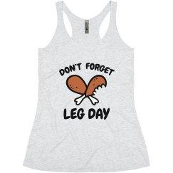 Thanksgiving Leg Day