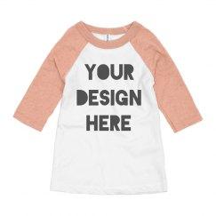 Design a Custom Youth Raglan