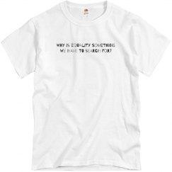 Unisex Equality Shirt