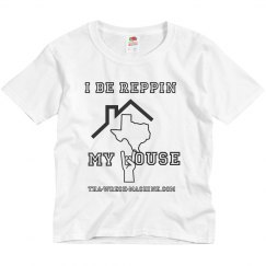 Reppin my house youth T shirt