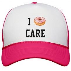 I Donut Care Snapback