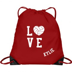 Volleyball Love Bag