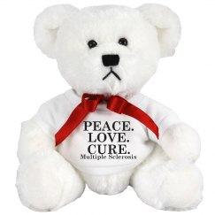 Peace, Love, Cure Bear