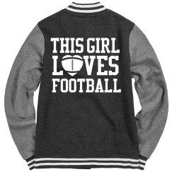 Girl's Love Football