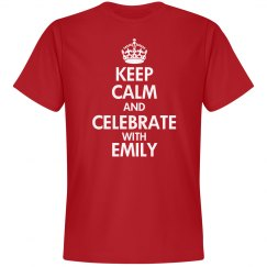 Keep Calm SoftStyle Red