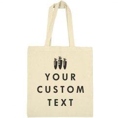 Custom Trendy Easter Tote Bag
