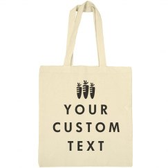 Custom Trendy Easter Tote Bag