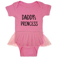 Daddy's princess onesie
