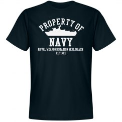 Retired from Navy
