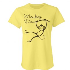 Best Friend Monkeys Tee