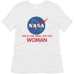 Matching Bff Space Woman Tee