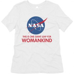 Matching Bff Space Womankind Tee