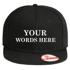 Custom Camo Snap Back Add Your Words