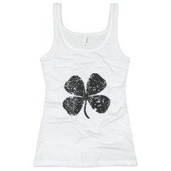 intimates four leaf clover top