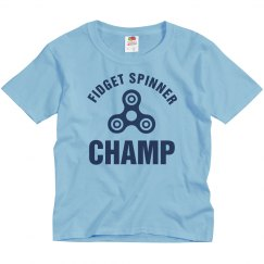 Fidget Spinner Champ Kids Tee