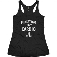 Fidget Spinning Is My Cardio