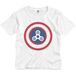 Captain Fidget Spinner America
