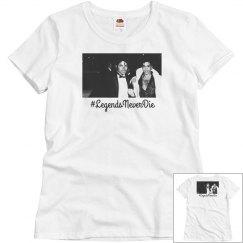 Legends Never Die T-shirt