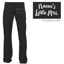 Personalized Marriage Sweats