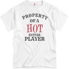 Hot Guitar Player