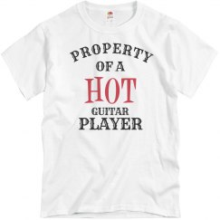 Hot Guitar Player