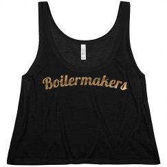 Boilermakers Flowy Metallic Tank
